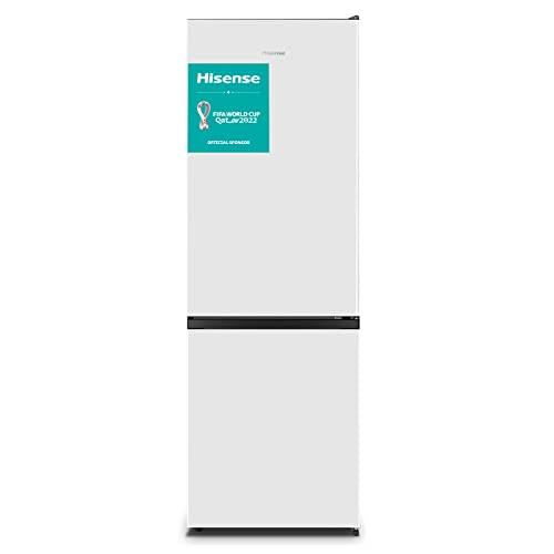 Hisense RB372N4AW1 - Frigorífico Combi No Frost, Capacidad neta 287 L con 178,5 cm Alto, Sistema de ventilación Multi Airflow , 4 estrellas congelador, puerta reversible, Color Blanco