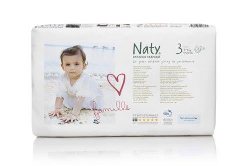 Nature Babycare Pañales desechables, talla 3