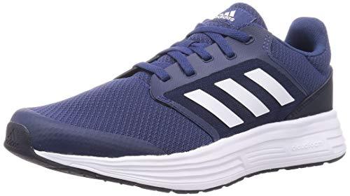 adidas Galaxy 5, Road Running Shoe Hombre, Tecind Ftwwht Legink, 43 1/3 EU