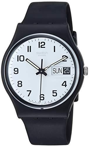 Swatch Reloj Analógico de Cuarzo para Hombre con Correa de Plástico – GB 743
