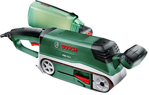Bosch PBS 75 A - Lijadora de Banda (710 W, 1 banda lijadora K 80)