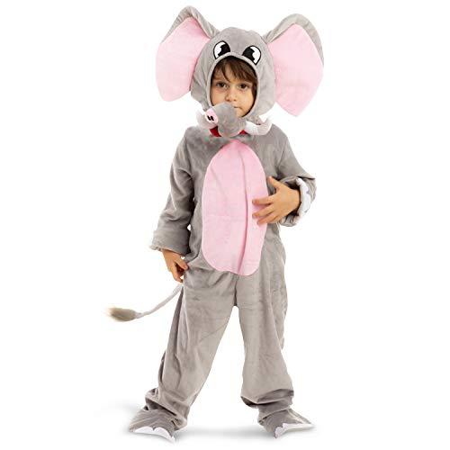 Spooktacular Creations Disfraz de elefante dulce unisex infantil (Small ( 5 – 7 yrs))