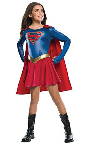 Rubies Official Disfraz Supergirl serie de televisión, disfraz infantil, 147cm–grande, 8/10años