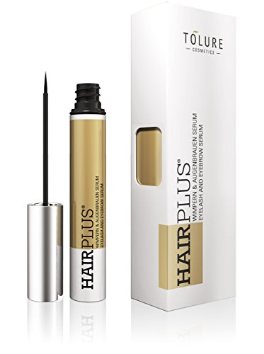 Tolure Cosmetics Hairplus Suero de 2-in-1 para las Pestañas y las Cejas - 3 ml