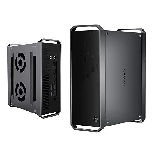 CHUWI CoreBox Mini pc, Ordenador de sobremesa Intel Core i5-8259U Desde 2.3GHz hasta 3.8GHz Windows10 OS, 16GB RAM 256GB SSD, Quad Core Octa Hilos 64 bit, HDPC 2.2, BT 4.0 y Dual WiFi