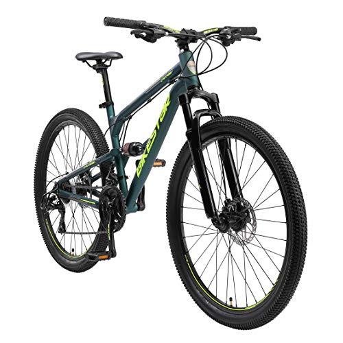 BIKESTAR Bicicleta de montaña de Aluminio Suspensión Doble Completa 27.5 Pulgadas   Cuadro 16.5